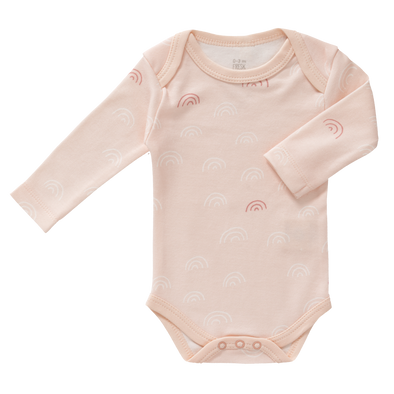 Body Manica Lunga Arcobaleno Chintz Rose | FRESK | RocketBaby.it