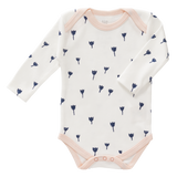 Body Manica Lunga Tulipano Indigo Blue | FRESK | RocketBaby.it