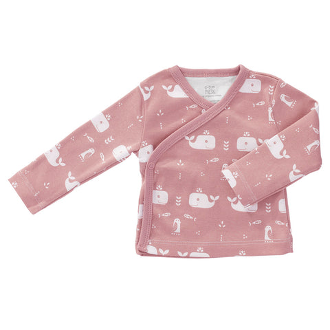 Cardigan Balena Rosa | FRESK | RocketBaby.it