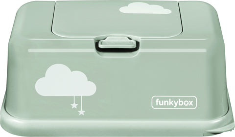 Box PortaSalviettine Umidificate Misty Grey Cloud | FUNKY BOX | RocketBaby.it