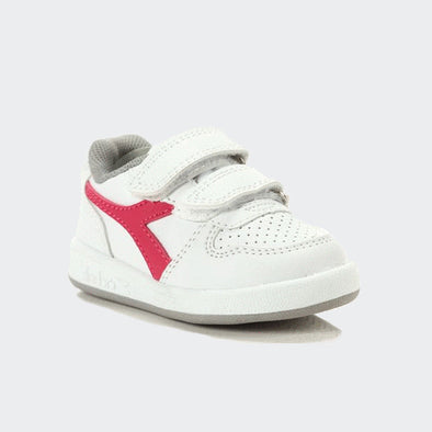 Diadora Baby Playground GS Saltire Pink E White | DIADORA | RocketBaby.it