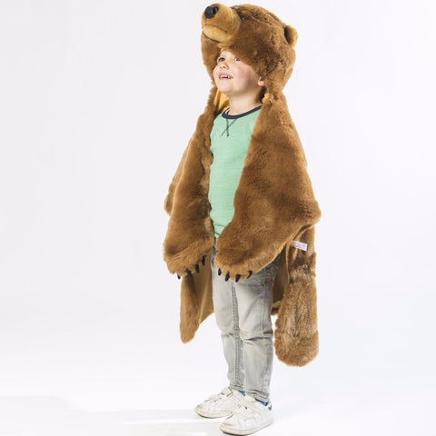 Plaid Tappeto Multiuso Oliver l'Orso Grizzly | WILD AND SOFT | RocketBaby.it