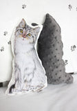 Mini Cuscino Gatto con gli Stivali | BLANKET STORY | RocketBaby.it