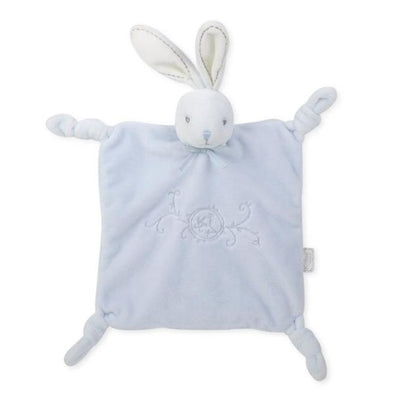 Conforter Perle Square Rabbit Bue | KALOO | RocketBaby.it