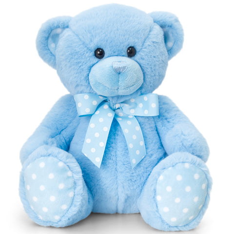 Peluche Baby Bear Blue | KEEL TOYS | RocketBaby.it
