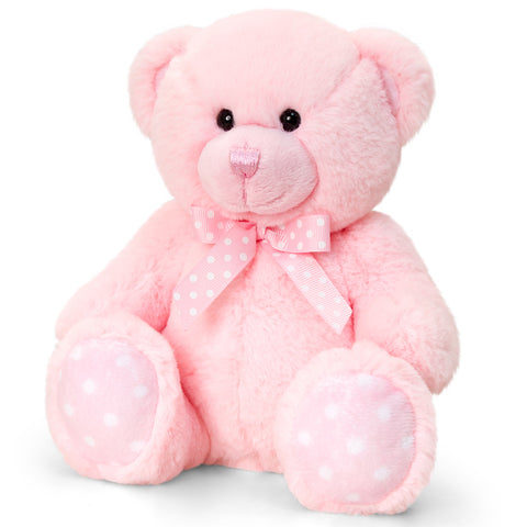 Peluche Baby Bear Pink | KEEL TOYS | RocketBaby.it
