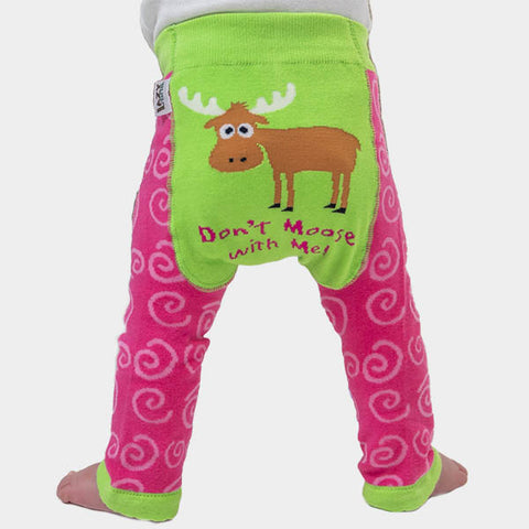 Leggings Baby Don't Moose with Me | LAZY ONE | RocketBaby.it