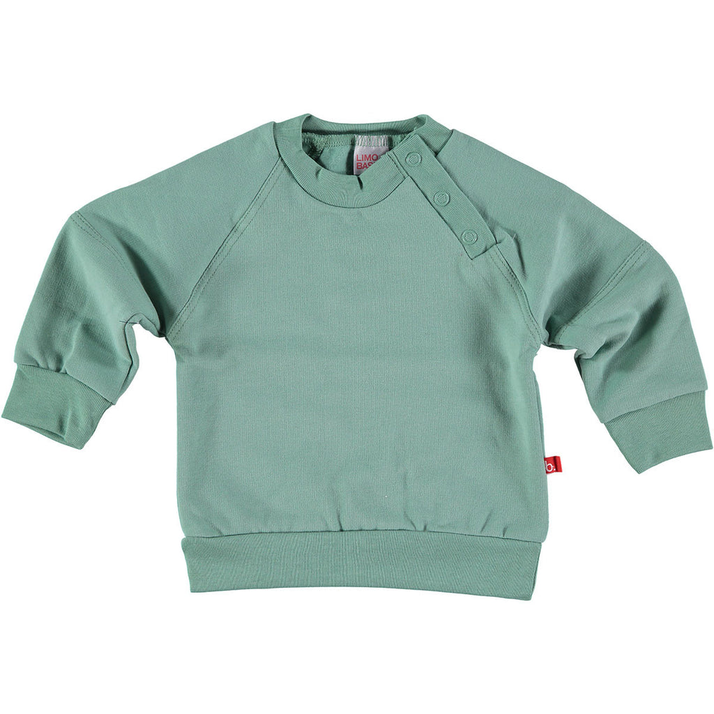 Felpa Verde Muschio - LIMOBASICS - RocketBaby.it - RocketBaby