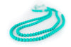 Collana da Mordere per Dentizione Rainbow Loom Turquoise | LOLLIPOPS AND MORE | RocketBaby.it