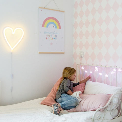 Lucine LED Colorate Nuvolette | A LITTLE LOVELY COMPANY | RocketBaby.it