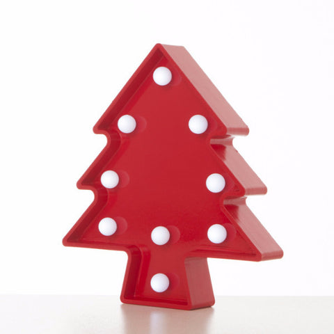 Lampada Marquee LED Albero Rosso - RocketBaby - 2