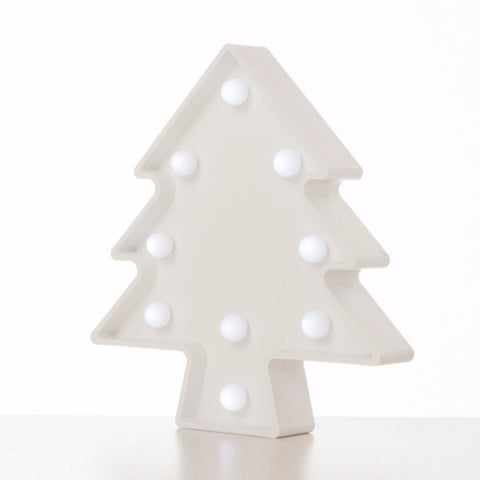 Lampada Marquee LED Albero Bianco - RocketBaby - 2