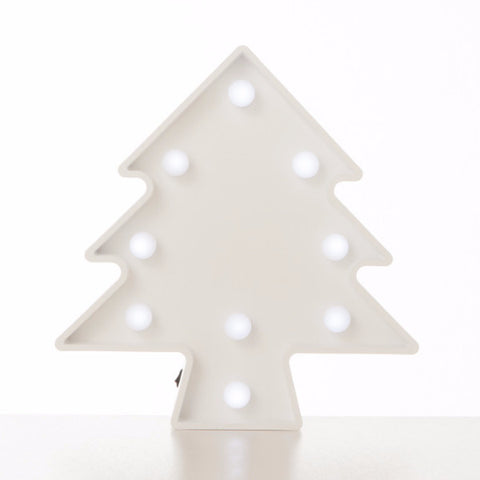 Lampada Marquee LED Albero Bianco - RocketBaby - 1