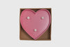 Lampada Marquee LED Cuore Rosa - RocketBaby - 4