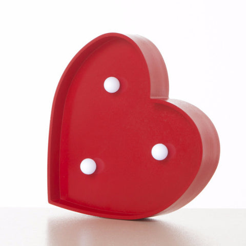 Lampada Marquee LED Cuore Rosso - RocketBaby - 2
