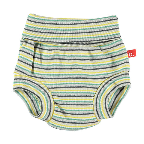 Culotte a righe Verde - RocketBaby - 2