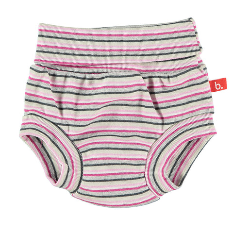 Culotte a righe Rosa - RocketBaby