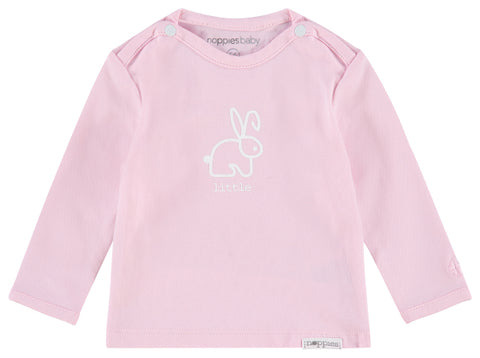 Maglietta a Maniche Lunghe Roos Light Rose | NOPPIES | RocketBaby.it