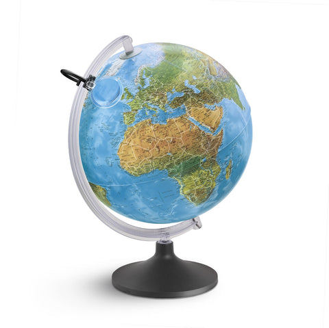 Mappamondo Lumierissimo Con Lente 30 cm |  | RocketBaby.it