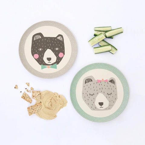 Set 4 Piatti Mama e Papa Bear | LOVE MAE | RocketBaby.it