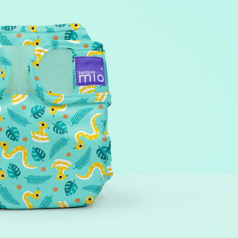 Cover per Pannolino Lavabile Miosoft Jungle Snake | BAMBINO MIO | RocketBaby.it