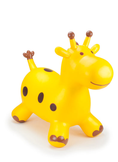 Gonfiabile Cavalcabile Small Gold Giraffe | HAPPY HOPPERZ | RocketBaby.it