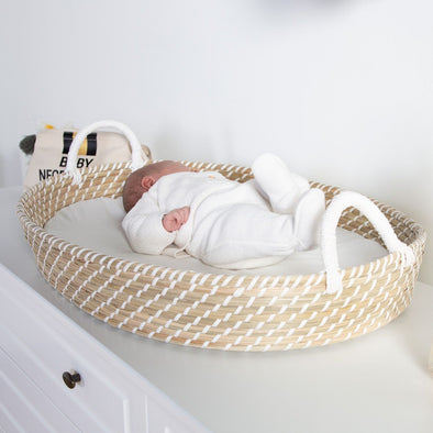Cesta Fasciatoio Con Materassino 73 X 50 Cm | CHILDHOME | RocketBaby.it