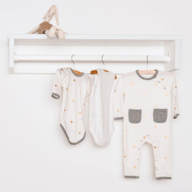 Mensola Con Appendiabiti Retro Rio White | CHILDHOME | RocketBaby.it