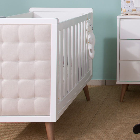 Letto Retro Rio White 70x140 Cm | CHILDHOME | RocketBaby.it