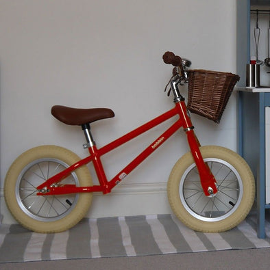 Bicicletta Moonbug Balance Gloss Red | BOBBIN | RocketBaby.it