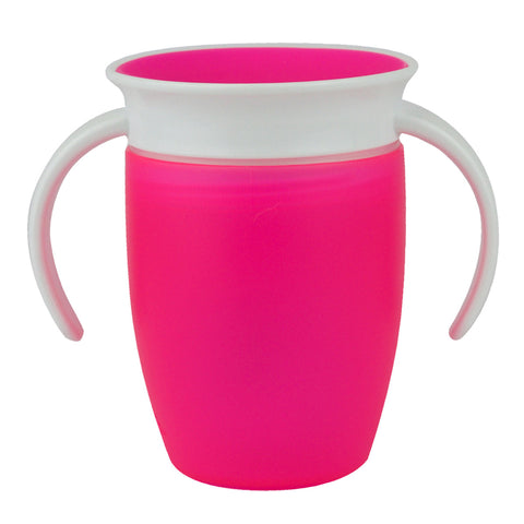 Sippy Cup Pink 207ml | MUNCHKIN | RocketBaby.it