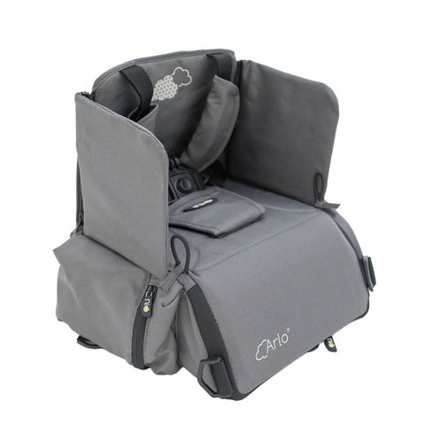 Seggiolino Portatile 2 In 1 Arlo Grey | NIU | RocketBaby.it