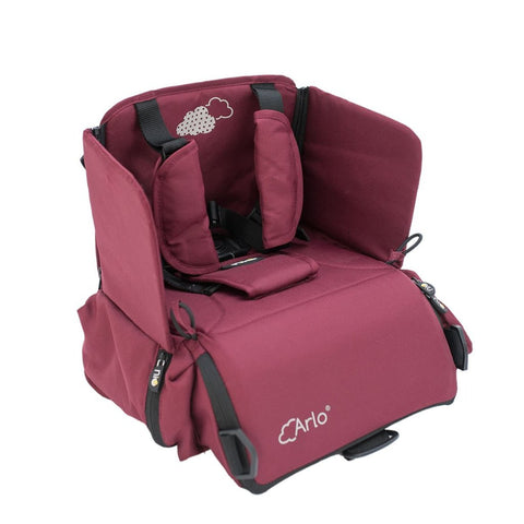 Seggiolino Portatile 2 In 1 Arlo Burgundy | NIU | RocketBaby.it
