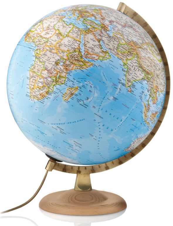 Mappamondo National Geographic Gold Classic 30 cm |  | RocketBaby.it