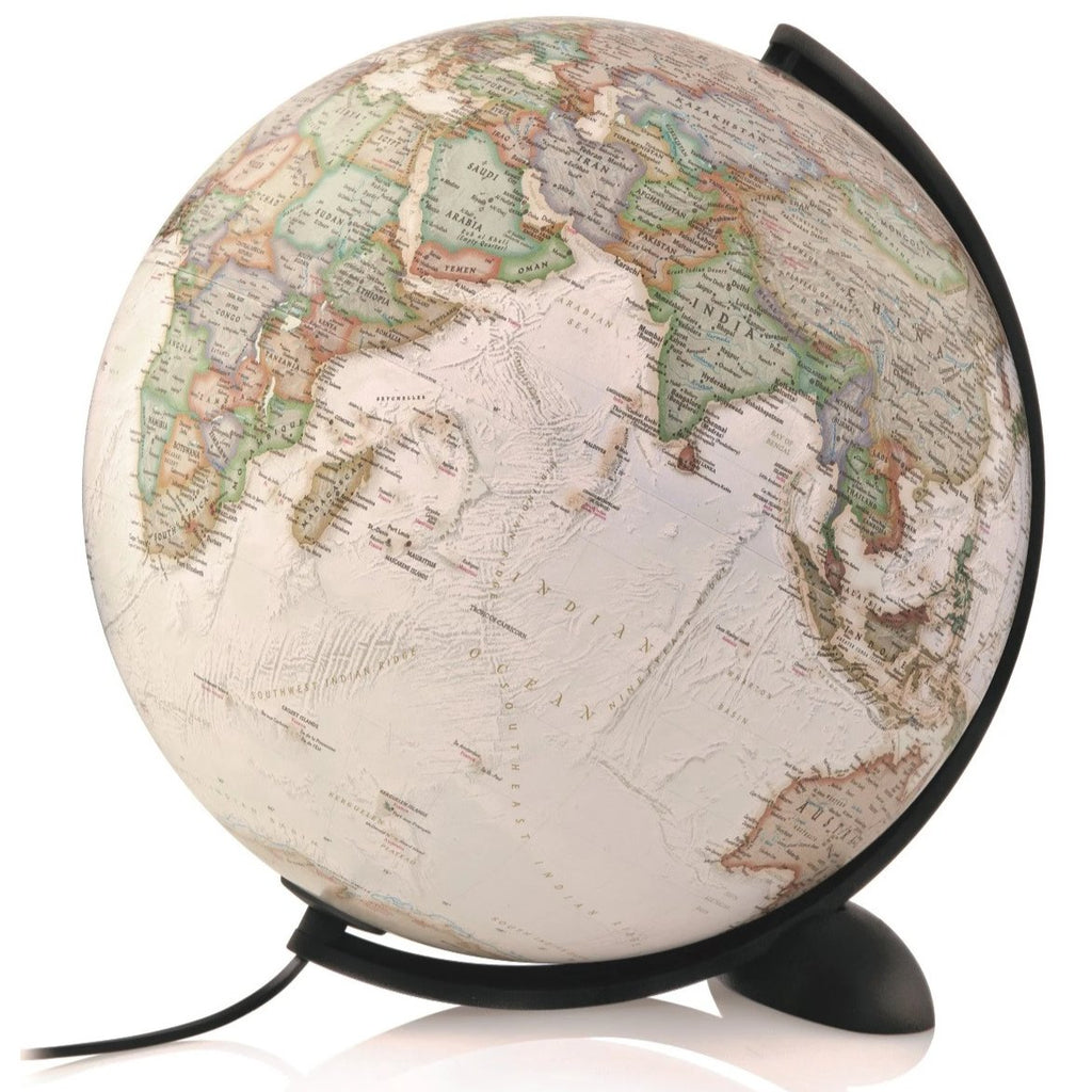 Mappamondo National Geographic Silicon Executive 30 cm - RocketBaby