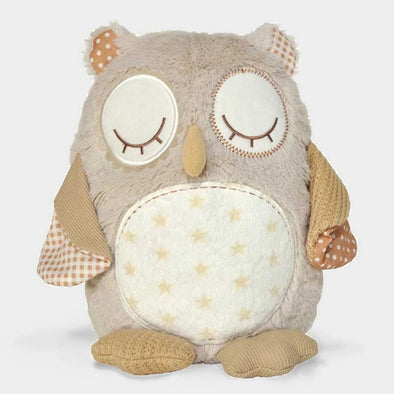 Peluche Sonoro con Sensore di Movimento Nighty Night Owl | CLOUD B | RocketBaby.it