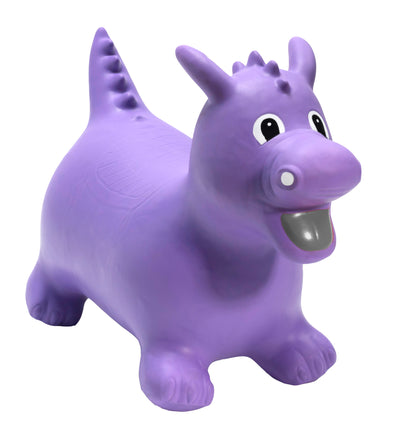 Gonfiabile Cavalcabile Medium Purple Dragon | HAPPY HOPPERZ | RocketBaby.it