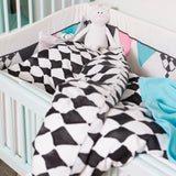 Set Lettino Bianco e Nero Graphic Grace | ELODIE DETAILS | RocketBaby.it