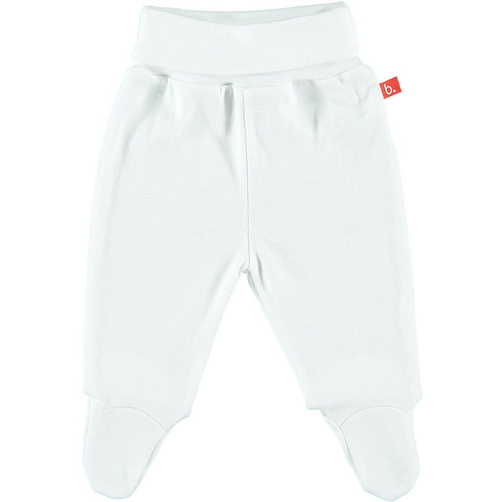 Pantalone con Piedino (Bianco) | LIMOBASICS | RocketBaby.it