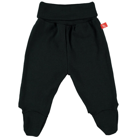 Pantalone con Piedino (Nero) | LIMOBASICS | RocketBaby.it