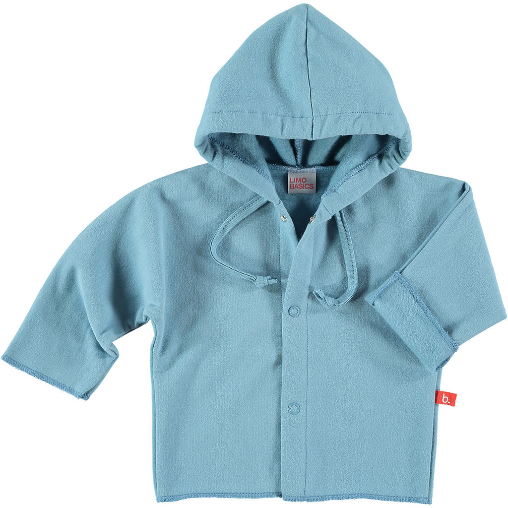 Felpa con Cappuccio (Denim) - LIMOBASICS - RocketBaby.it - RocketBaby