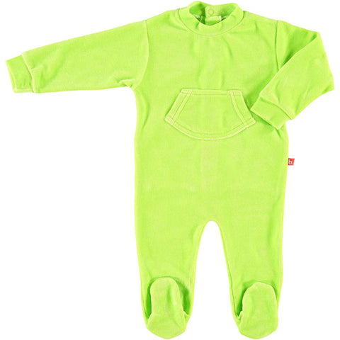 Tutina Pigiamino (Verde Acido) | LIMOBASICS | RocketBaby.it