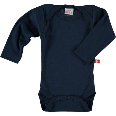 Body Manica Lunga Scollo Tondo (Blu Navy) |  | RocketBaby.it