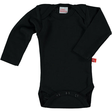 Body Manica Lunga Scollo Tondo (Nero) |  | RocketBaby.it