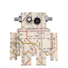 Sticker da muro Robot con mappa subway - RocketBaby - 2