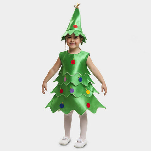Costume Travestimento Albero di Natale 5-6 anni | MOM FUN COMPANY | RocketBaby.it