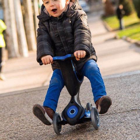 Monopattino Evo 5 in 1 - Blu Scuro 1-6 Anni | GLOBBER | RocketBaby.it
