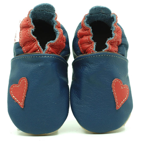 Babbucce Soft Sole Heart Simplicity | FIORINO | RocketBaby.it