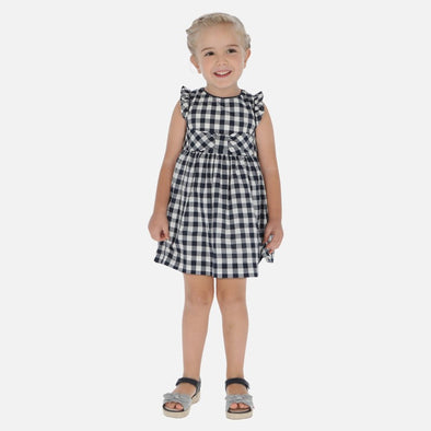 Vestito Vichy Blu Navy | MAYORAL | RocketBaby.it