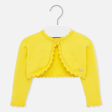 Cardigan a Onda Giallo | MAYORAL | RocketBaby.it